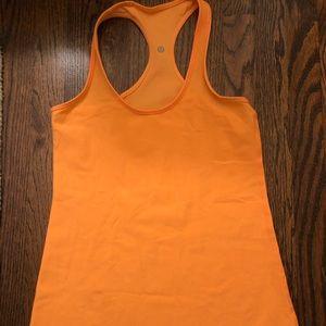 Lululemon Orange Tank - size 8